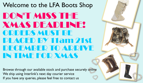 Welcome to the LFA Boots shop